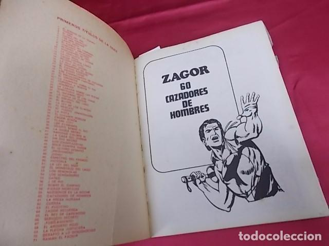 Cómics: ZAGOR. Nº 60. CAZADORES DE HOMBRES. BURU LAN - Foto 2 - 101944559