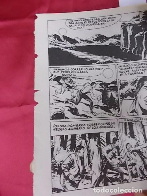 Cómics: ZAGOR. Nº 60. CAZADORES DE HOMBRES. BURU LAN - Foto 6 - 101944559