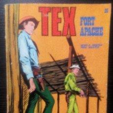 Cómics: TEX FORT APACHE Nº 26-EDICCIONES BURU LAN AÑO 1973. Lote 102126871
