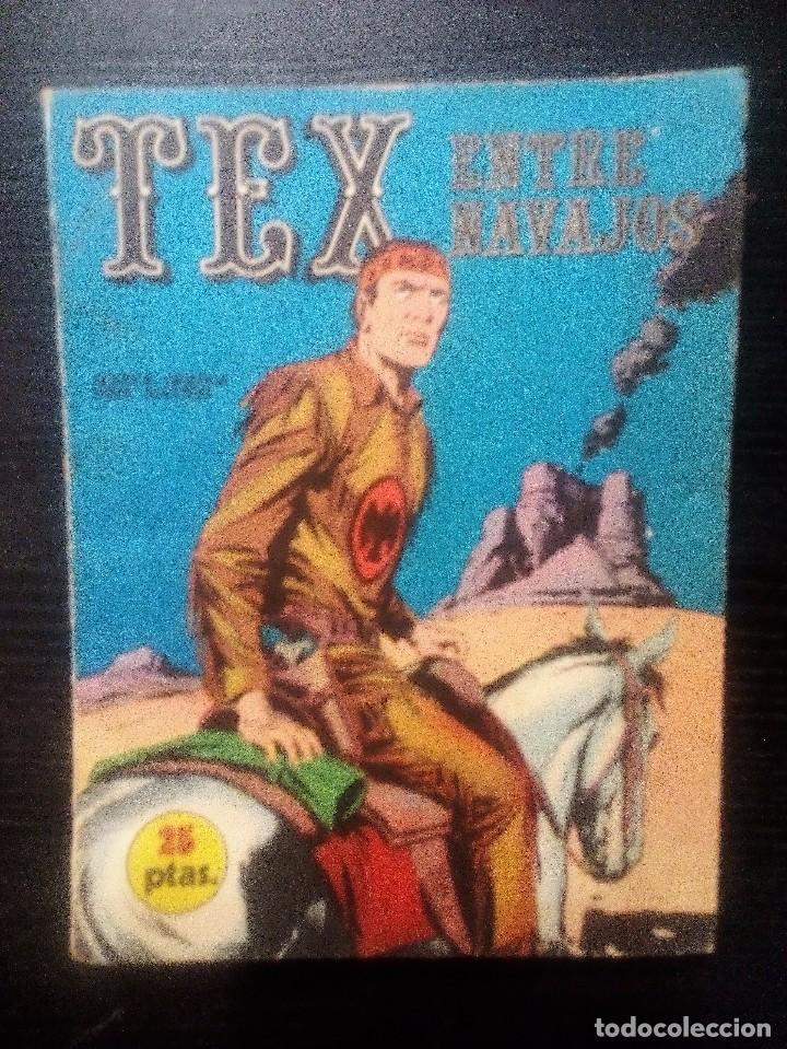 TEX ENTRE NAVAJOS Nº 12 EDICCIONES BURU LAN AÑO 1971 (Tebeos y Comics - Buru-Lan - Tex)