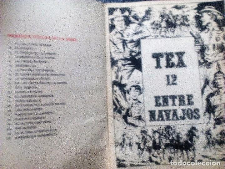 Cómics: Tex ENTRE NAVAJOS nº 12 Edicciones Buru lan año 1971 - Foto 2 - 102127139