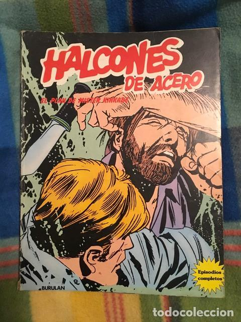 HALCONES DE ACERO ÁLBUM 3 - EL PLAN DE MISTER KINKADE (Tebeos y Comics - Buru-Lan - Halcones de Acero)
