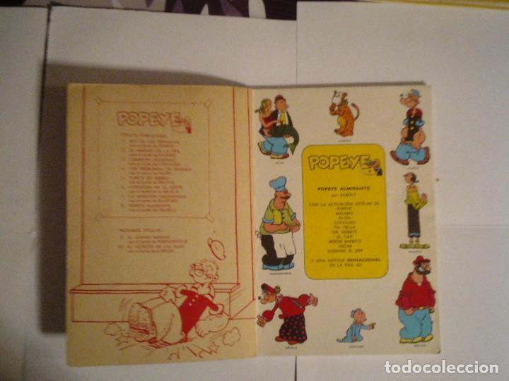 Cómics: POPEYE - POPEYE ALMIRANTE - BURU LAN - NUMERO 8 - BUEN ESTADO - CJ 70 - GORBAUD - Foto 2 - 102419655