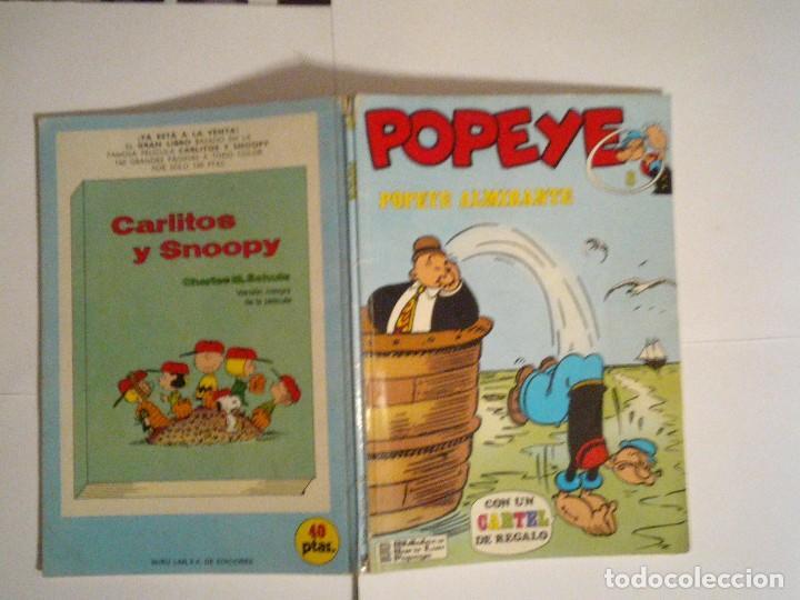 Cómics: POPEYE - POPEYE ALMIRANTE - BURU LAN - NUMERO 8 - BUEN ESTADO - CJ 70 - GORBAUD - Foto 7 - 102419655