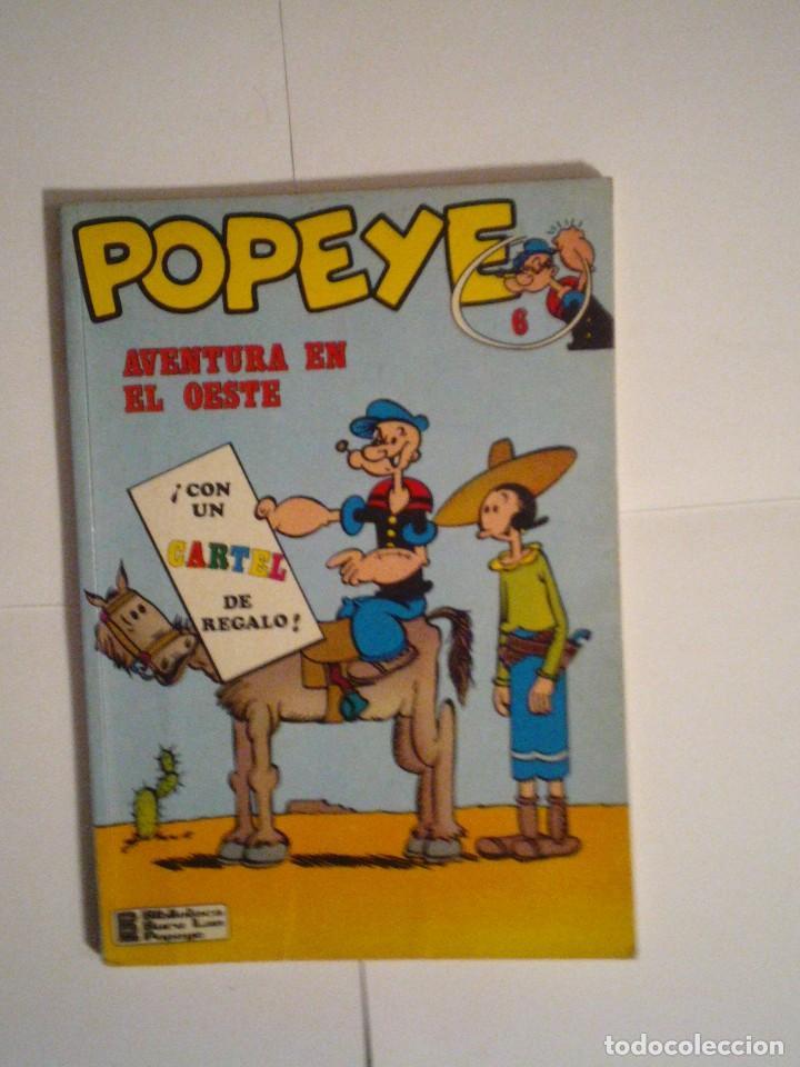 POPEYE - AVENTURA EN EL OESTE - BURU LAN - NUMERO 6 - BUEN ESTADO - CJ 119 - GORBAUD (Tebeos y Comics - Buru-Lan - Popeye)