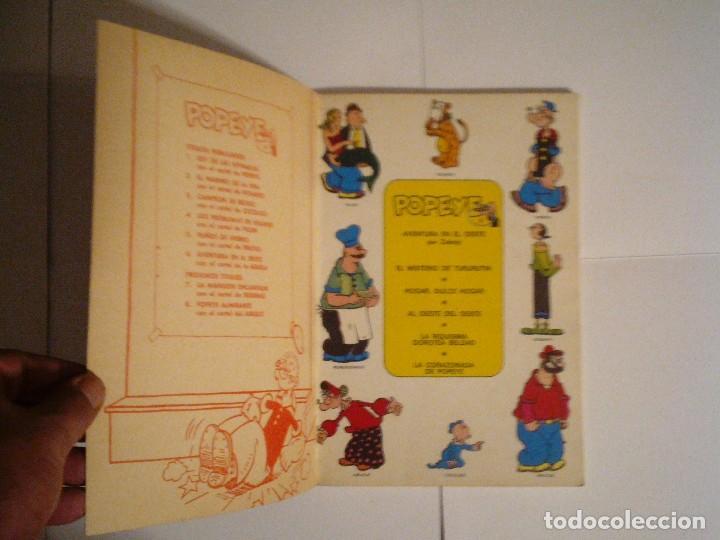 Cómics: POPEYE - AVENTURA EN EL OESTE - BURU LAN - NUMERO 6 - BUEN ESTADO - CJ 119 - GORBAUD - Foto 2 - 102419943