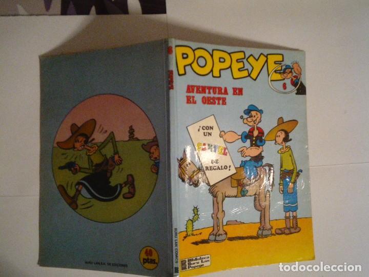 Cómics: POPEYE - AVENTURA EN EL OESTE - BURU LAN - NUMERO 6 - BUEN ESTADO - CJ 119 - GORBAUD - Foto 7 - 102419943
