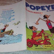 Cómics: POPEYE EL MARINO Nº5 EL GOLPE REMOLINO. Lote 102672091