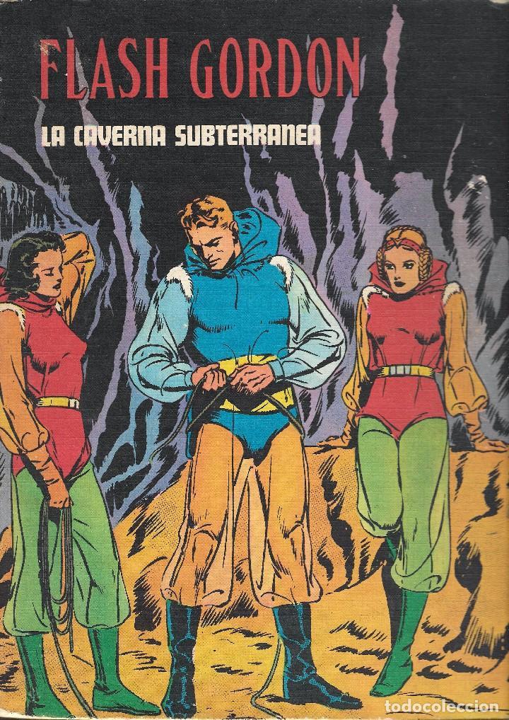 FLASH GORDON - TOMO IV - LA CAVERNA SUBTERRÁNEA - COL. HEROES DEL COMIC - BURU LAN, 1972. (Tebeos y Comics - Buru-Lan - Flash Gordon)