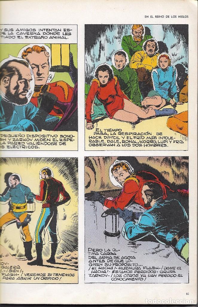 Cómics: FLASH GORDON - TOMO IV - LA CAVERNA SUBTERRÁNEA - COL. HEROES DEL COMIC - BURU LAN, 1972. - Foto 2 - 102810295