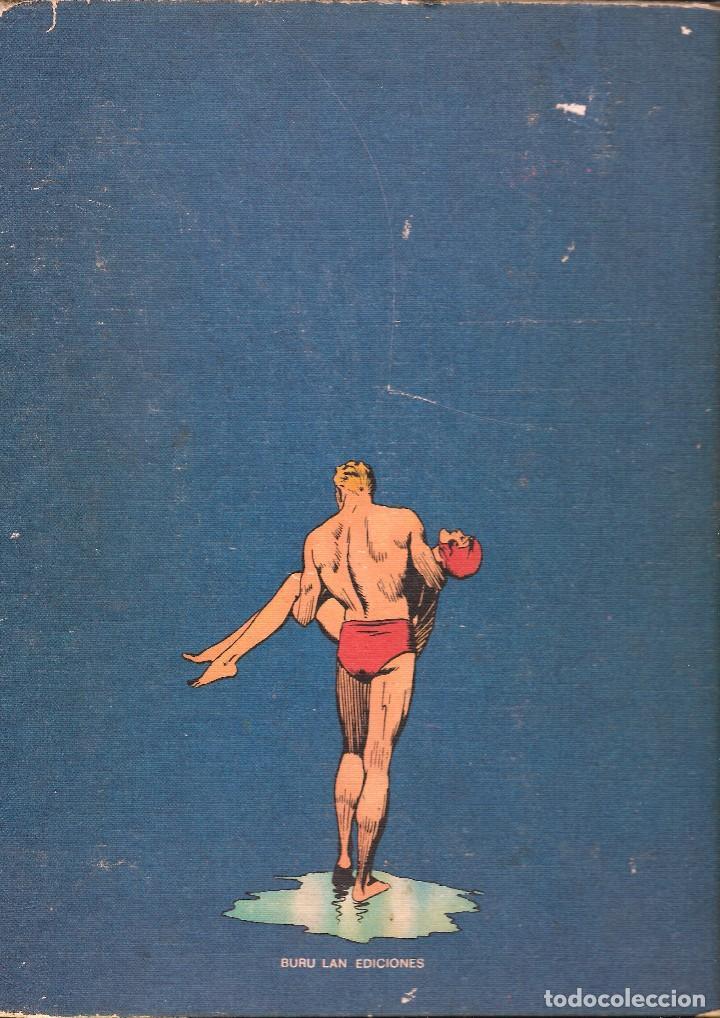 Cómics: FLASH GORDON - TOMO IV - LA CAVERNA SUBTERRÁNEA - COL. HEROES DEL COMIC - BURU LAN, 1972. - Foto 4 - 102810295