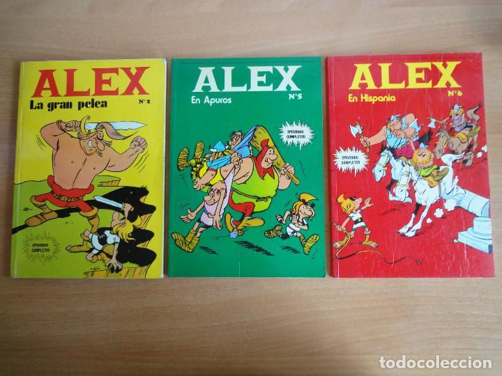 LOTE COMICS ALEX. NUM 2, 5 Y 6 (BURU LAN 1973) (Tebeos y Comics - Buru-Lan - Otros)