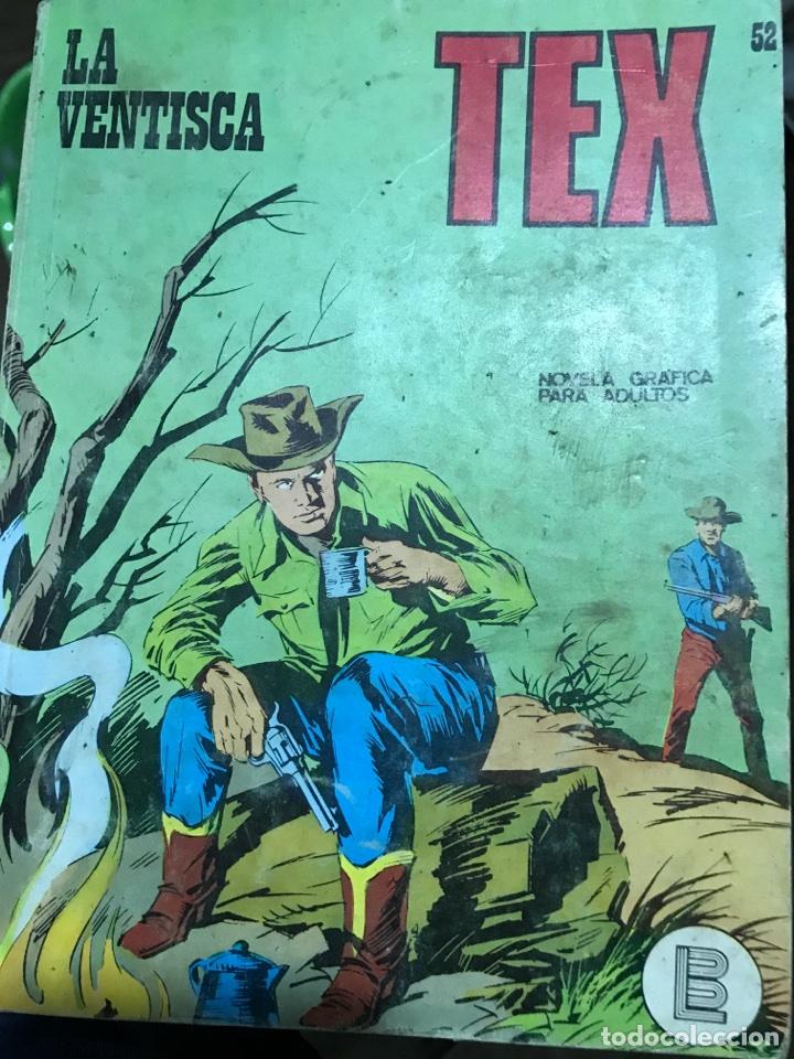 LA VENTISCA N°52, TEX (Tebeos y Comics - Buru-Lan - Tex)