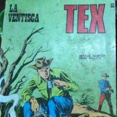 Cómics: LA VENTISCA N°52, TEX. Lote 103524802