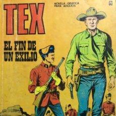 Cómics: EL FIN DE UN EXILIO. Lote 103525399