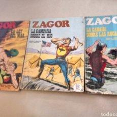 Cómics: 3 COMICS DE ZAGOR. Lote 103915124