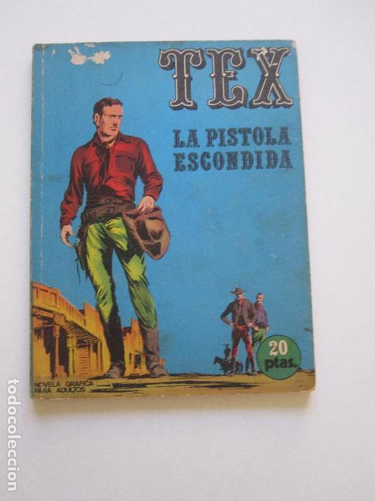 TEX Nº 7. LA PISTOLA ESCONDIDA. 20 PTAS. - BURU LAN ETX (Tebeos y Comics - Buru-Lan - Tex)