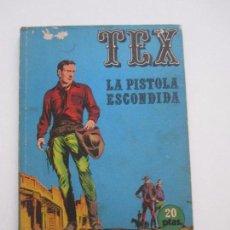 Cómics: TEX Nº 7. LA PISTOLA ESCONDIDA. 20 PTAS. - BURU LAN ETX. Lote 104283815