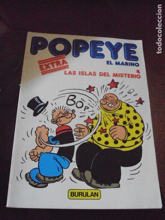 POPEYE EL MARINO / LAS ISLAS DEL MISTERIO / NÚMERO 4 EDITORIAL BURULAN / 1.983 (Tebeos y Comics - Buru-Lan - Popeye)