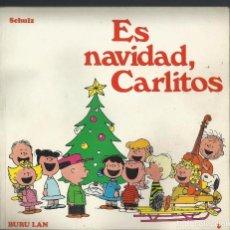 Cómics: ES NAVIDAD, CARLITOS. Nº 6. SCHULZ. EDICIONES BURU LAN, 1972. 1A EDICION. Lote 105091491