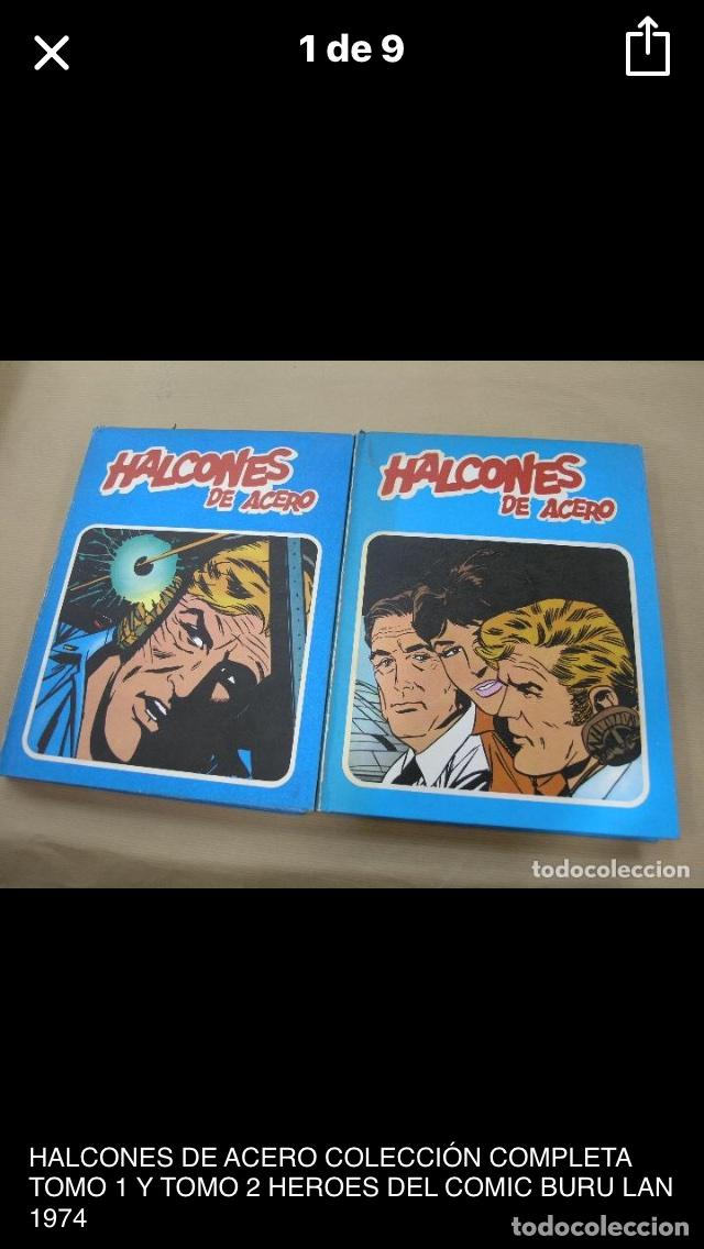 HALCONES DE ACERO (Tebeos y Comics - Buru-Lan - Halcones de Acero)