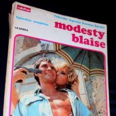 Cómics: MODESTY BLAISE: LA BARRA / LA MAQUINA (COLECCION AGENTES SECRETOS).. Lote 105439219