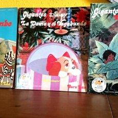Cómics: GIGANTES DISNEY BURU LAN. LOTE 3 NÚMEROS 1973. Lote 105452423