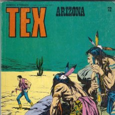 Cómics: TEX. Nº 72. ARIZONA. Lote 105795215