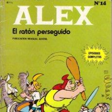 Cómics: COMIC ALEX, Nº 14: EL RATON PERSEGUIDO - BURU LAN, AÑO 1973. Lote 105949671