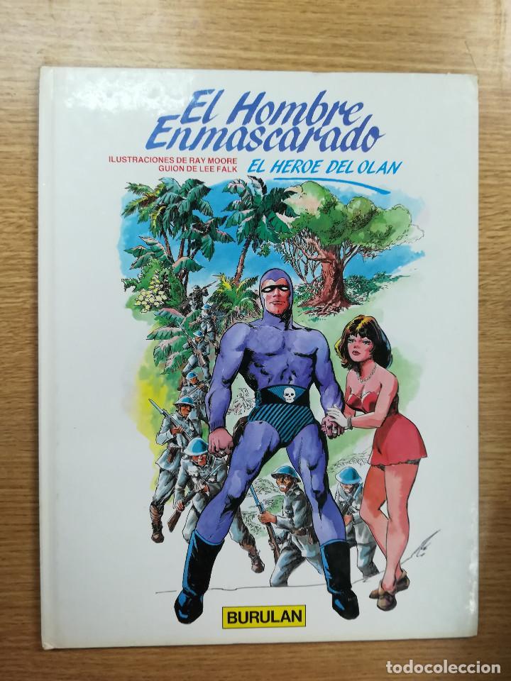 EL HOMBRE ENMASCARADO #3 EL HEROE DE OLAN (Tebeos y Comics - Buru-Lan - Hombre Enmascarado)