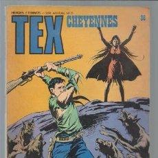 Cómics: TEX 86: CHEYENNES, 1974, BURULAN, BUEN ESTADO. Lote 106039967