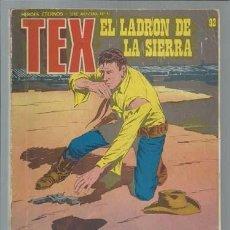 Cómics: TEX 92: EL LADRON DE LA SIERRA, 1974, BURULAN.. Lote 233202765