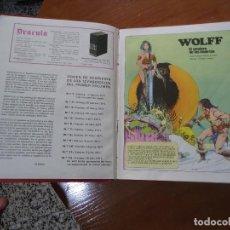 Cómics: COMIC TAPAS DURAS DRACULA-WOLFF BURU-LAN AÑO 1971. Lote 106477143