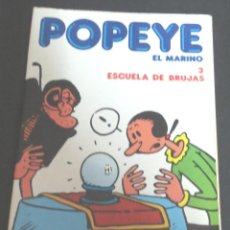 Cómics: POPEYE EL MARINO Nº 3 ESCUELA DE BRUJAS BURULAN AÑO 1983. Lote 106767219