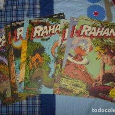 Cómics: LOTE DE COMICS DE RAHAN . 9 EN TOTAL . BURULAN. Lote 107569919