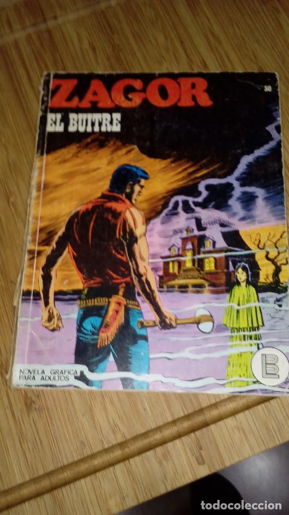 ZAGORNNº 30 EL BUITRE BURU LAN (Tebeos y Comics - Buru-Lan - Zagor)