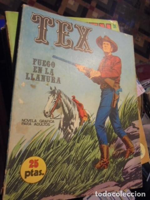 TEX FUEGO EN LA LLANURA - Nº 17 - BURU LAN - 1971 - MUY BUEN ESTADO - ENVIO GRATIS (Tebeos y Comics - Buru-Lan - Tex)