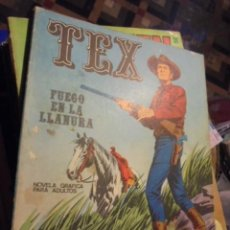 Cómics: TEX FUEGO EN LA LLANURA - Nº 17 - BURU LAN - 1971 - MUY BUEN ESTADO - ENVIO GRATIS. Lote 107656959