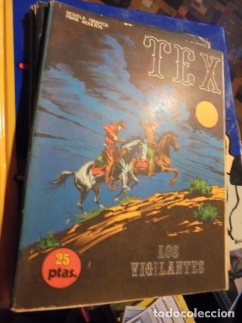 TEX Nº 16 - LOS VIGILANTES ( PUMAS GIGANTES ) - BURU LAN 1971 - 1ª ED - MUY BUEN ESTADO (Tebeos y Comics - Buru-Lan - Tex)