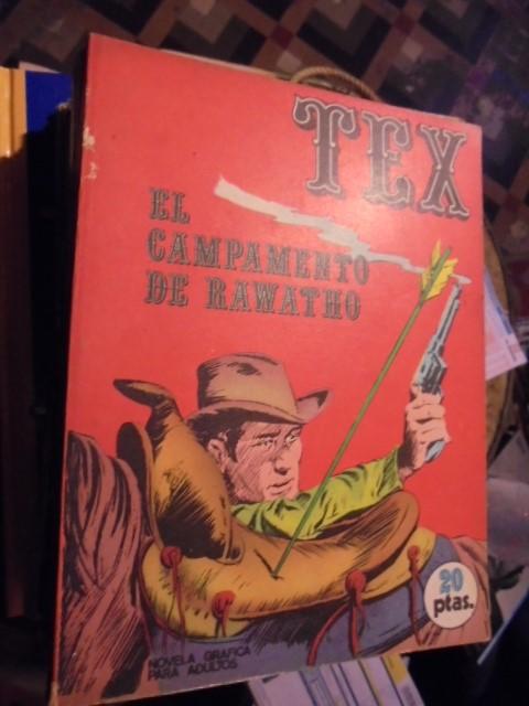 TEX - EL CAMPAMENTO DE RAWATHO - Nº 8 - TOTALMENTE NUEVO - 1970 (Tebeos y Comics - Buru-Lan - Tex)