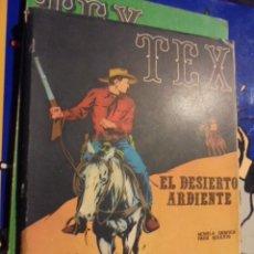 Cómics: TEX - EL DESIERTO ARDIENTE - Nº 13 - 1971 - VER DESCRIPCION. Lote 33636283