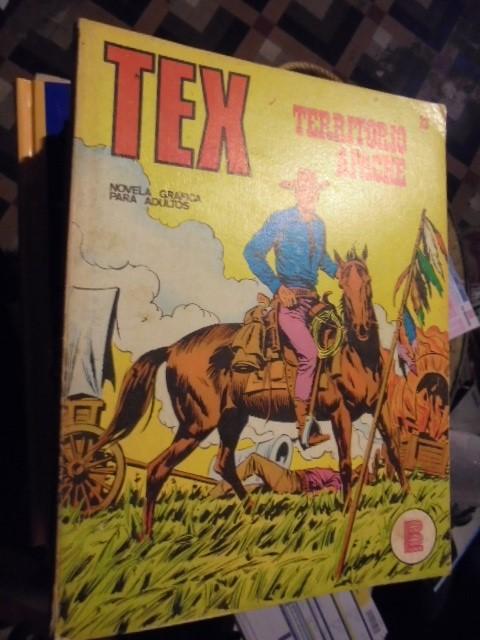 Cómics: TEX - TERRITORIO APACHE - Nº 23 - COMO NUEVO PRACTICAMENTE - 1971 - Foto 2 - 33647415