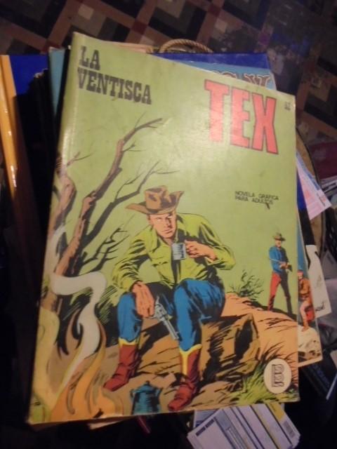 TEX - LA VENTISCA - Nº 52 - 1972 - PRACTICAMENTE NUEVO (Tebeos y Comics - Buru-Lan - Tex)
