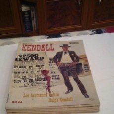 Cómics: SHERIFF KENDALL - BURU LAN - COLECCION COMPLETA - 5 NUMEROS - BUEN ESTADO - GORBAUD-CJ75. Lote 107682403