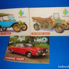Cómics: LOTE DE 3 COMICS JUVENILES APAISADOS COLECCION EL COCHE DE MI ABUELO Y MI COCHE. Lote 108435963