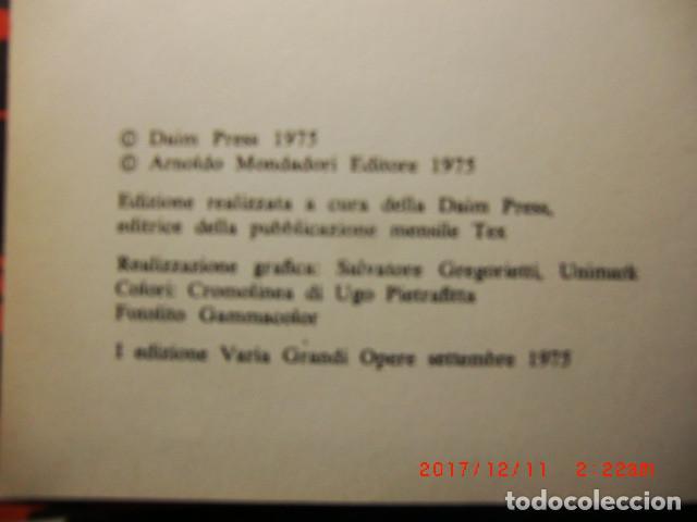 Cómics: libro comic edicion especial-Il mio nome é TEX año 1975 - Foto 2 - 109011911