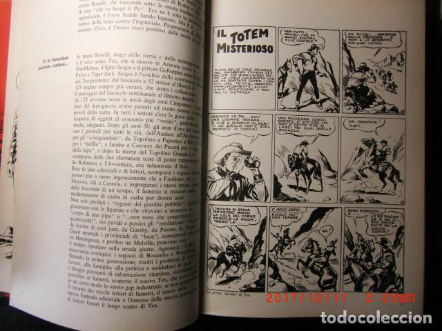 Cómics: libro comic edicion especial-Il mio nome é TEX año 1975 - Foto 4 - 109011911