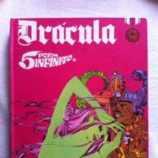 Cómics: DRACULA TOMO Nº 3 - 5 POR INFINITO - ESTEBAN MAROTO - BURU LAN EDICIONES 1972 - 240 PAGINAS. Lote 109064151