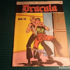 Cómics: DRACULA. Nº 39. BURU LAN. (M-6). Lote 109189775