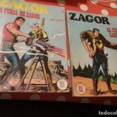 Cómics: ZAGOR NÚMERO 17 Y 28 EDITORIAL BURU LAN. Lote 109211627